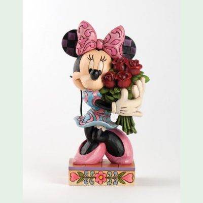 Jim Shore - Minnie Mouse - Minnie with Flowers