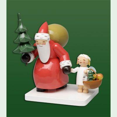 Wendt Und Kühn Weihnachtsbaum.Wendt Und Kühn Weihnachtsmann Mit Baum Und Engel