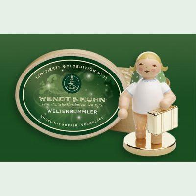 Wendt /& Kühn Goldedition No 11 Weltenbummler Limitiert 650//124//LE